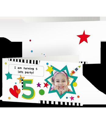 XL GREETING CARD, LONG FOLD