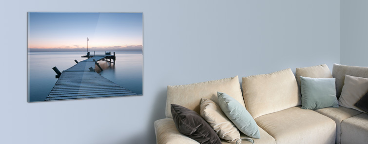 Desktop Acrylic Print (Photo Paper)