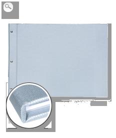 Cover: Premium linen silver