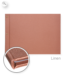 Cover: Premium linen copper
